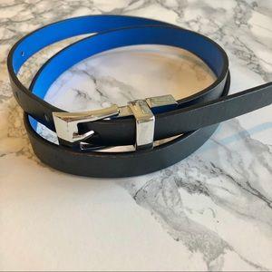 Also - Reversible Black/Blue Belt